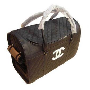 กระเป๋าน้องหมา Chanel Dog Bag สีดำ